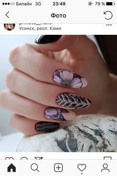 Nail Polish Designs, Cute Nail Designs, Cute Nails, Pretty Nails, Picasso Nails, Chevron Nails, Instagram Nails, Crystal Nails, Finger