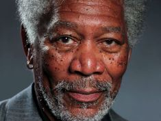 This Photo of Morgan Freeman Will Blow Your Mind, Because It's not a Photo at All