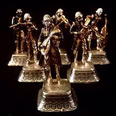 Un preferito personale dal mio negozio Etsy https://www.etsy.com/it/listing/226656007/6-mervigliose-miniature-di-musicanti-del
