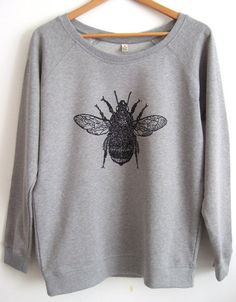 The snuggliest grey sweatshirt. | 21 Things You Need If You're Obsessed With Bumble Bees