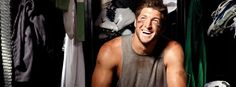 Look at that smile<3 #TimTebow