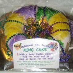 Mardi Gras King Cake Allrecipes.com