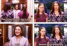 Gilmore Girls. I love this show. I always wished it had more seasons.