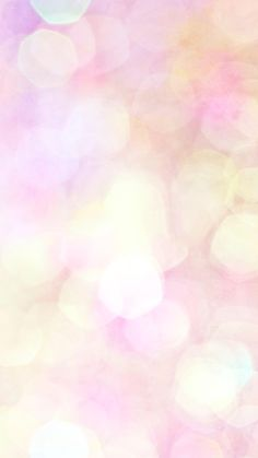 Pink bokeh iPhone wallpaper