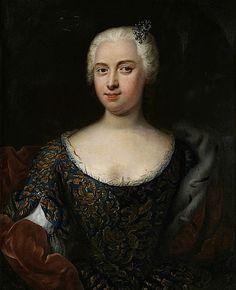 Portrait of a Lady,1715-20 German