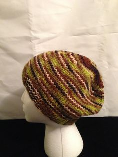 Camo Knit hat by 1finedesign on Etsy, $15.00