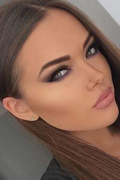 Make-up ideas Make-up ideas in 2019 Beauty Make-up, Beauty Women, Beauty Hacks, Hair Beauty, Makeup Tips, Eye Makeup, Hair Makeup, Makeup Trends, Glamorous Makeup