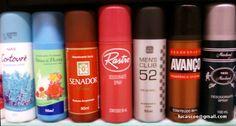 Perdidos em uma prateleira alguns desodorantes antigos para matar a saudade ... esta foto foi tirada em 2009: Avanco, Très Marchand, Rastro, Senador, Contourè, Alma de Flores ...