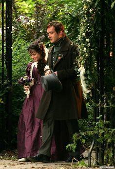 "Arthur (Matthew Macfadyan) and Amy (Claire Foy) in ""Little Dorrit"" (BBC)"