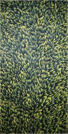 Gloria Petyarre, de langage et peuple Anmatyerre, est née vers 1945,dans le pays Atnangkere, en plein désert, au nord est d'Alice Springs. Elle a vécu à la manière traditionnelle avant de rejoindre un établissement sédentaire, Utopia, une immense ferme...