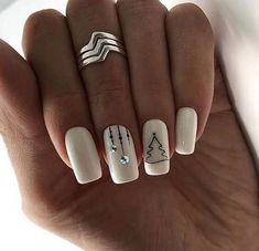 2019 Eye-Catching Christmas Nails Ideas – Page 4 of 4 – Vida Joven 2019 Eye-Catching Christmas Nails Ideas – Page 4 of 4 – Vida Joven,Nägel Related Fantastic Christmas Nail Art Designs To. Cute Christmas Nails, Xmas Nails, Christmas Nail Designs, Holiday Nails, Red Nails, White Nails, Christmas 2019, Glitter Nails, Nails Kylie Jenner