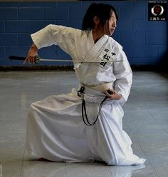 """iaido - The word iaido approximately translates into English as """"the way of mental presence and immediate reaction."""" It was coined in the 1930s, replacing the earlier and more literal name battōjutsu (抜刀術 """"art of drawing the sword"""")."""