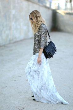 x-tra long skirt..gorgg