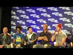HVFF - The Men of Arrow - Full Panel - YouTube  With Stephen Amell, David Ramsey, Colin Donnell, Echo Kellum, Paul Blackthorne and Neal McDonough