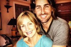 Jake Owen and his mom