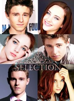 The Selection - America Singer and Prince Maxon Schreave - Haley Ramm and Callan McAuliffe