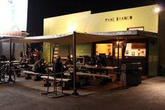 Pane Bianco Phoenix, Food Network award winning sandwich, outdoor seating