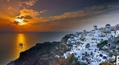 Best Places To Watch Sunset Around The World Pouted Online Magazine Latest Design Trends Creative Decorating Ideas Stylish Interior Designs Gift Ideas Santorini Island, Santorini Greece, Santorini Sunset, Beautiful Islands, Beautiful Sunset, A Far Off Place, Republic Pictures, Beautiful Places To Visit, Spa Water