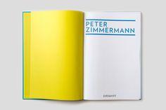 #peter #zimmermann #artbook #editorialdesign #graphicdesign #exhibition #publishing #blue #epoxy #art #ateliernesenogay