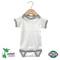 Wholesale blank baby onesies with ringer style