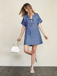 Wouldn't it be nice to combine the sass of a lace-up and the comfort of a t-shirt? Well the Abbott Dress lets you have the best of both worlds. https://www.thereformation.com/products/abbott-dress-fleet?utm_source=pinterest&utm_medium=organic&utm_campaign=PinterestOwnedPins