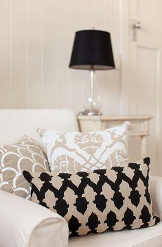 Gorgeous neutral cushions