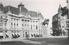 43. P-ta Palatului, statuia - Regele Carol I