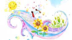 Children Sun Butterflies
