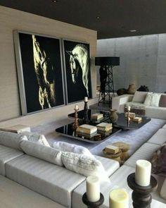 50 Classy Traditional Living Room Designs - 2020 Home design Living Room Modern, Living Room Interior, Home Living Room, Living Room Designs, Cozy Living, Usa Living, Modern Bedroom, Living Area, Modern Interior Design