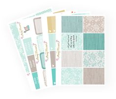 Breakfast at Tiffany Full Kit | Erin Condren Planner Stickers