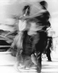 "Ferruccio Ferroni, Dancers, 1954 / ""Real movement"" captured in a picture by blur."