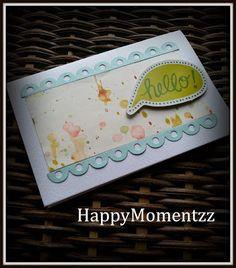 HappyMomentzz crafting by Sharada Dilip: Hello CAS card
