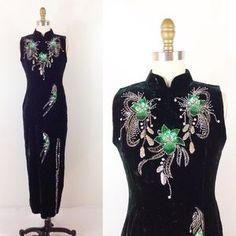 Vintage Asian Dress