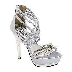 Pretty Silver Heels | Tsaa Heel