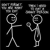 New diet plan.