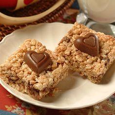 Valentine Chocolate Crispy Treats Recipe   Nestle Meals.com