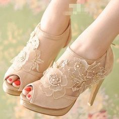 Free Shipping Genuine Leather Fashion Buckle Sandals Sexy Platform Gladiator High Heels Shoes EUR Size(35--39)  4011 Pixie Store on AliExpress.com. 10% off $38.69