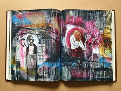 for those who decide - journal spread - by bun // artist: roxanne coble