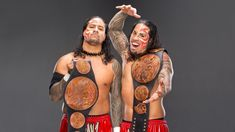 Check out photos of the WWE Superstar tandems (and one trio) who have held the Raw Tag Team Titles, including The Street Profits. Curt Hawkins, Zack Ryder, Wwe News, Champions, Wwe Superstars, Tandem, Mma, Wonder Woman, Wrestling