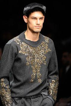 Dolce & Gabbana Menswear Fall 2012