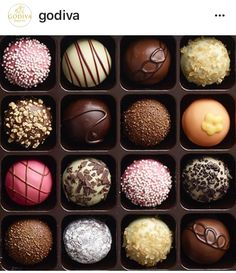 Godiva Chocolate Truffles are Always a Good Idea!!