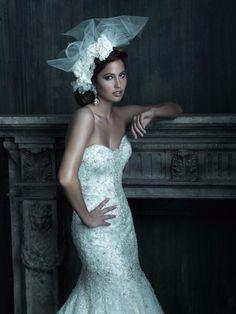 Allure Bridals : Strapless Wedding Dress