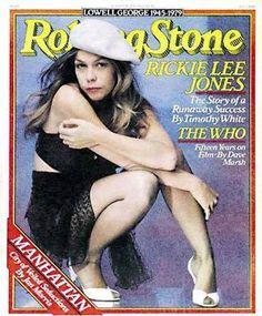 Ricki Lee Jones Cover photo by Annie Leibovitz August 1979 Lowell George, Ricki Lee, Rickie Lee Jones, Rolling Stone Magazine Cover, Annie Leibovitz, Music Photo, Smile Face, Jimi Hendrix, Musica