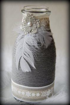 Groseilles & CO: Du gris et rose...pour dire merci!
