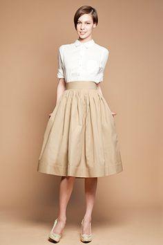 Custom made skirt for Holly por mrspomeranz en Etsy, £162.00