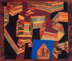 Paul Klee: Transparent-Perspectively - 1921
