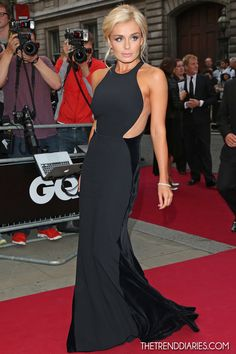 Katherine Jenkins at the GQ Men Of The Year 2012 Awards at the Royal Opera House in London, England - September 4, 2012