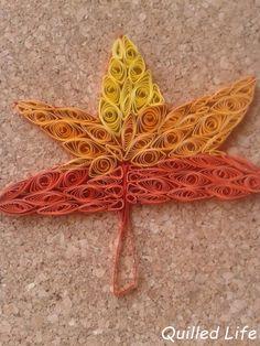Quilled Life: Jesienne liście