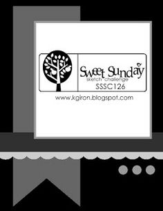 the sweetest thing...: Sweet Sunday Sketch Challenge 126