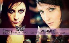 AGOSTO/AUGUST: Rosa de la Cruz (ANKOR)